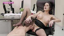 brunette mature big boobs latina fucking anal hardcore with young bouy with a big cock 4k