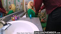 Cornered By Step Dad On The Toilet My Father Pu...