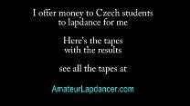 20 y.o. amateur Sandra - lapdance and blow job