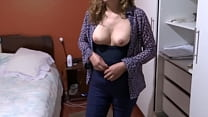 My Latina wife's sister is very excited, hairy ...