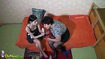 OldNannY Huge Compilation of Lesbian Sex Toy Play Vorschaubild