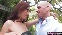 Twistys - (Karlie Montana, Johnny Sins) starring at Naughty Girl In The Garden