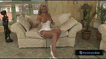 Hottie Ginger Jones in sexy white lingerie pornhub video