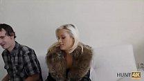 HUNT4K. Neighbor guy becomes cuckold when sells his girlfriend