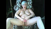 Mature Russian bitch. Private masturbation ...))