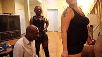 Selena White Ass Worship Outtake w. Tai Woodz & Mistress Thick