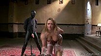 Four different Milf getting slave training