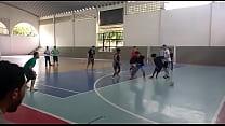 Orgia Na Quadra De Futsal