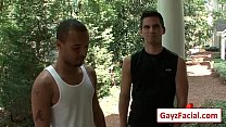 Bukkake Boys - Gay Hardcore Sex from www.GayzFacial.com 18