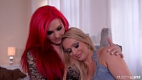 Busty lovers wanna see lesbians Roxi Keogh and Amber Jayne in 69 action