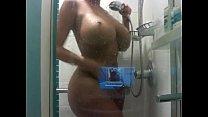 boobs in shower