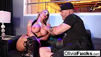 Stacked Blonde Stripper takes on a customer in ...