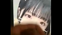 Japanese girl facial cum
