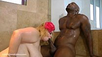 Huge Boob BBW Sashaa Juggs Fucks Big Black Cock Vorschaubild