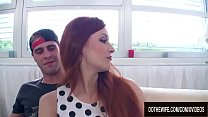 Inadequate Husband Has to Watch His Wife Get Ba...