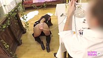 Submissive ANAL MAID serves her MASTER -Anita B...