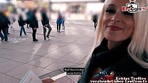 Skinny mature german woman public street flirt EroCom Date casting in berlin pickup