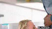 BLACKED Blonde model taken by bbc Image