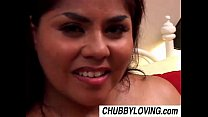 Naughty Nikki is a cute chubby latina MILF who loves to fuck