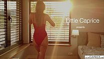 Milena Maria Show us her wet tiny pussy - LittleCaprice.com