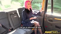 Fake Taxi Pink Haired Roxy Lace Fucks a Huge Wh...