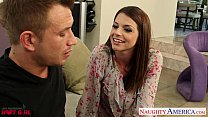 Image: Busty Brooklyn Chase gets nailed and facialized