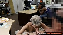Nasty gf banged by pawn man while her bf filming them