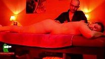 Hot sex oil massage