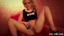 Sweet blonde Jaqueline Khull pleasures herself (2)