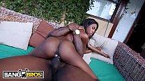 BANGBROS - Skinny Ebony Babe Adriana Malao Gets Her Nice Ass Banged thumbnail