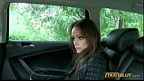 Tight amateur brunette Sophie fucked in public with the driver pornhub video