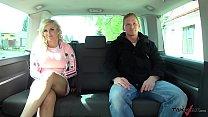 Busty wild blonde Jarushka Ross meet Takevan cr...