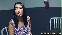 Latina immigrant fucked by US border patrol