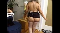 Mature MILF Granny in kinky hardcore sex action