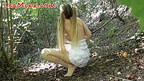Horny girl caught in forest and forced Vorschaubild
