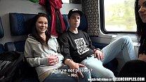 13070 Foursome Sex in Public TRAIN preview