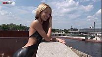 Eroberlin 18yo Cassandra leather teeny outdoor blond skinny Fotze jung slot Vorschaubild