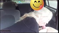 Sex in the car with married fan