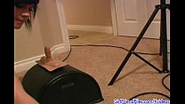Amateur orgasms on sybian sex toy