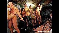 excited club sluts suck pricks in public (Hijra images) thumbnail