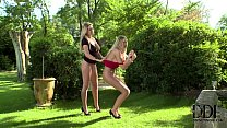 Mistress Lexi Gives Sexy Sub Danielle May A Serious Paddling