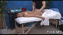 See these eighteen year old girls as they get fucked hard by their massage therapist preview image