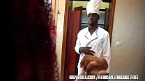 Ebony ass housewife neglected by her husband se...
