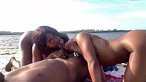 Beach Fun with Mysubkitty & Ministallion