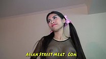 Dancing Asian Jap Lead On Leash Image