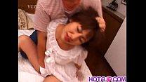 Reina Minami busty in wedding dress gets cock pornhub video