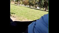 Freak sucking dick in public park gets caught and ask to delete video must see #viral