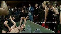 Public bondage orgy dirty video