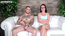 Melonechallenge Hardcore looking fully tattooed newcomer  fail with Wendy Moon