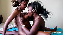 Ebony Amateur and Her Friend Have Some Lesbian Fun